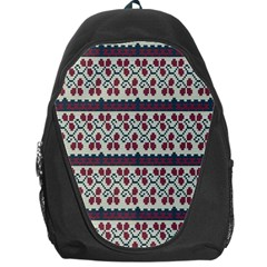 Winter Pattern 5 Backpack Bag by tarastyle