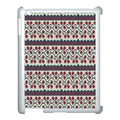 Winter Pattern 5 Apple Ipad 3/4 Case (white) by tarastyle