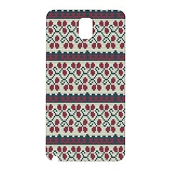 Winter Pattern 5 Samsung Galaxy Note 3 N9005 Hardshell Back Case by tarastyle