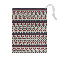 Winter Pattern 5 Drawstring Pouches (extra Large) by tarastyle