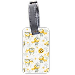 Winter Pattern 6 Luggage Tags (one Side)  by tarastyle