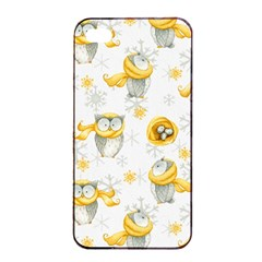 Winter Pattern 6 Apple Iphone 4/4s Seamless Case (black) by tarastyle