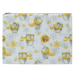 Winter Pattern 6 Cosmetic Bag (xxl)  by tarastyle