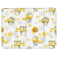 Winter Pattern 6 Samsung Galaxy Tab 7  P1000 Flip Case by tarastyle