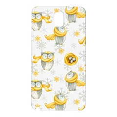 Winter Pattern 6 Samsung Galaxy Note 3 N9005 Hardshell Back Case by tarastyle