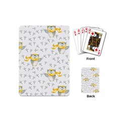 Winter Pattern 7 Playing Cards (mini)  by tarastyle