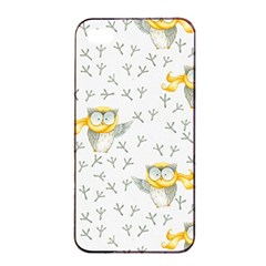 Winter Pattern 7 Apple Iphone 4/4s Seamless Case (black) by tarastyle