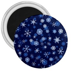 Winter Pattern 8 3  Magnets by tarastyle