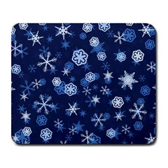 Winter Pattern 8 Large Mousepads by tarastyle