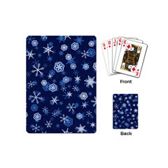 Winter Pattern 8 Playing Cards (mini)  by tarastyle