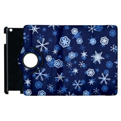 Winter Pattern 8 Apple Ipad 2 Flip 360 Case by tarastyle