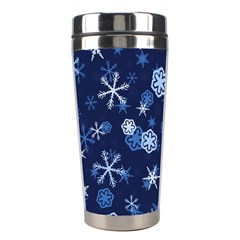 Winter Pattern 8 Stainless Steel Travel Tumblers by tarastyle