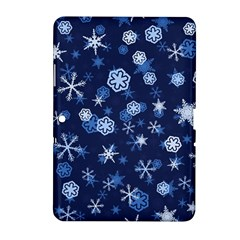 Winter Pattern 8 Samsung Galaxy Tab 2 (10 1 ) P5100 Hardshell Case  by tarastyle