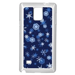 Winter Pattern 8 Samsung Galaxy Note 4 Case (white) by tarastyle