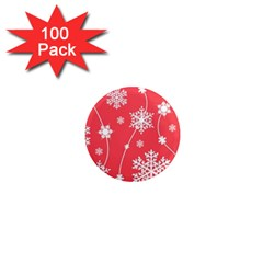 Winter Pattern 9 1  Mini Magnets (100 Pack)  by tarastyle