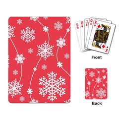 Winter Pattern 9 Playing Card by tarastyle