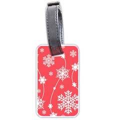 Winter Pattern 9 Luggage Tags (one Side)  by tarastyle