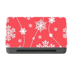 Winter Pattern 9 Memory Card Reader With Cf by tarastyle