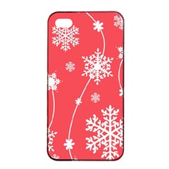 Winter Pattern 9 Apple Iphone 4/4s Seamless Case (black) by tarastyle