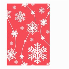 Winter Pattern 9 Small Garden Flag (two Sides) by tarastyle