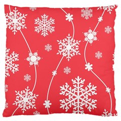 Winter Pattern 9 Large Cushion Case (one Side) by tarastyle