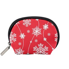 Winter Pattern 9 Accessory Pouches (small)  by tarastyle