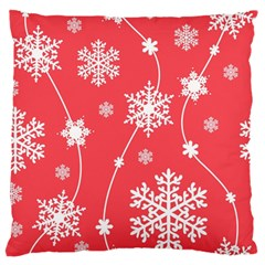 Winter Pattern 9 Standard Flano Cushion Case (two Sides) by tarastyle