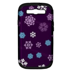 Winter Pattern 10 Samsung Galaxy S Iii Hardshell Case (pc+silicone) by tarastyle