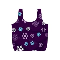 Winter Pattern 10 Full Print Recycle Bags (s)  by tarastyle