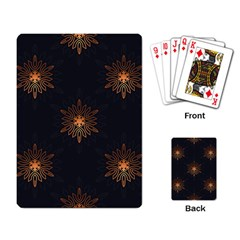 Winter Pattern 11 Playing Card by tarastyle