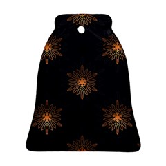 Winter Pattern 11 Bell Ornament (two Sides) by tarastyle