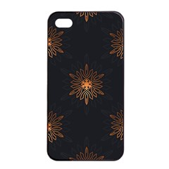 Winter Pattern 11 Apple Iphone 4/4s Seamless Case (black) by tarastyle