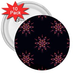 Winter Pattern 12 3  Buttons (10 Pack)  by tarastyle