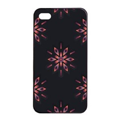 Winter Pattern 12 Apple Iphone 4/4s Seamless Case (black) by tarastyle
