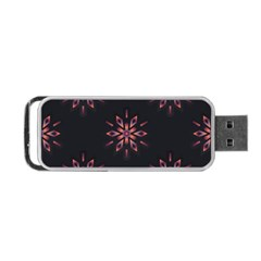 Winter Pattern 12 Portable Usb Flash (one Side) by tarastyle