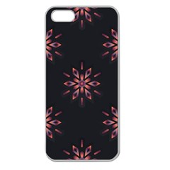Winter Pattern 12 Apple Seamless Iphone 5 Case (clear) by tarastyle