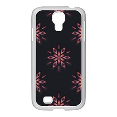 Winter Pattern 12 Samsung Galaxy S4 I9500/ I9505 Case (white) by tarastyle