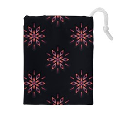 Winter Pattern 12 Drawstring Pouches (extra Large) by tarastyle