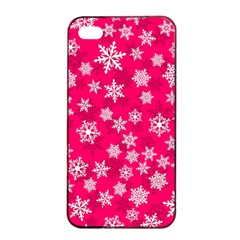 Winter Pattern 13 Apple Iphone 4/4s Seamless Case (black) by tarastyle
