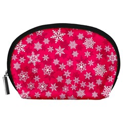 Winter Pattern 13 Accessory Pouches (large)  by tarastyle