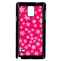 Winter Pattern 13 Samsung Galaxy Note 4 Case (black) by tarastyle