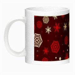Winter Pattern 14 Night Luminous Mugs by tarastyle
