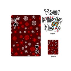 Winter Pattern 14 Playing Cards 54 (mini)  by tarastyle