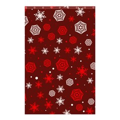 Winter Pattern 14 Shower Curtain 48  X 72  (small)  by tarastyle