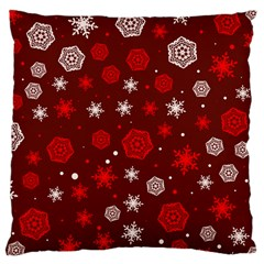 Winter Pattern 14 Large Cushion Case (one Side) by tarastyle