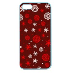 Winter Pattern 14 Apple Seamless Iphone 5 Case (color) by tarastyle