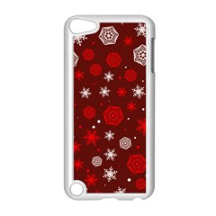 Winter Pattern 14 Apple Ipod Touch 5 Case (white) by tarastyle