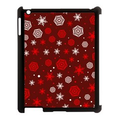 Winter Pattern 14 Apple Ipad 3/4 Case (black) by tarastyle