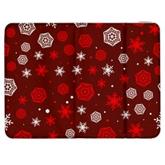 Winter Pattern 14 Samsung Galaxy Tab 7  P1000 Flip Case by tarastyle