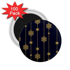 Winter Pattern 15 2 25  Magnets (100 Pack)  by tarastyle